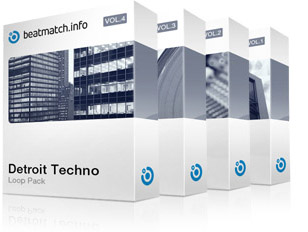 detroit techno loop pack bundle
