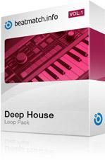 Deep house loop pack vol 1 97 audio loops midi files for Deep house singles