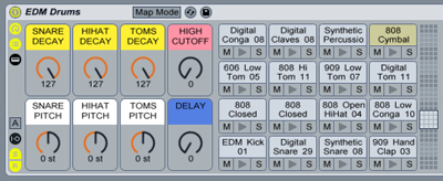 EDM Drums : Sample Pack & Drum Kits for Ableton Live and Maschine