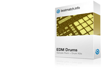 edm drums drum kit