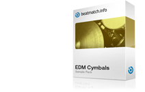 edm cymbals sample pack