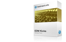edm kicks sample pack